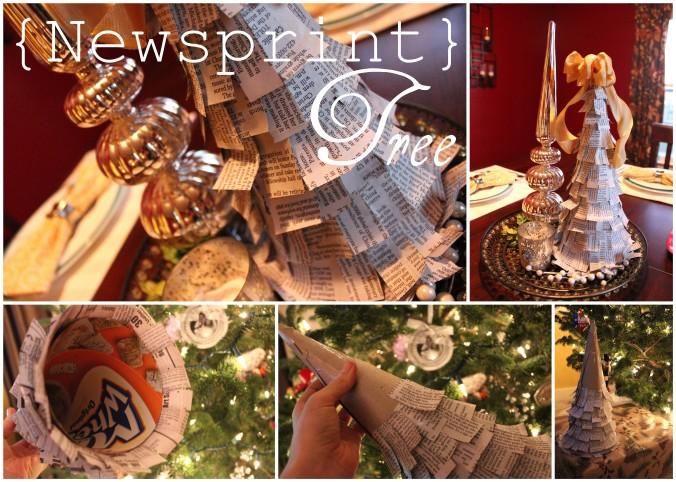 Newsprint Tree