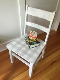 | a new little chair for T!|